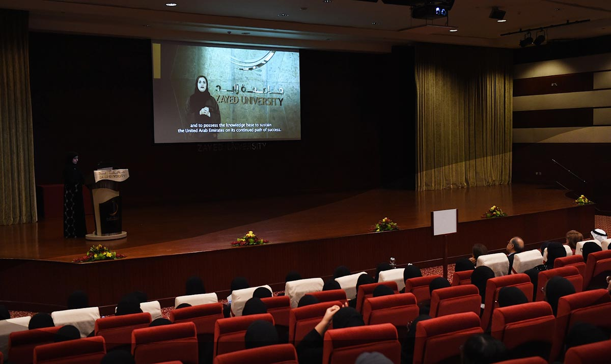 Zayed University Welcomes New Students During Orientation Week