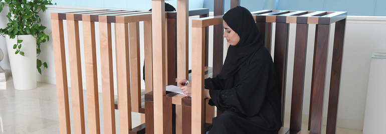 Two ZU Students Top An Abu Dhabi Furniture Design Contest