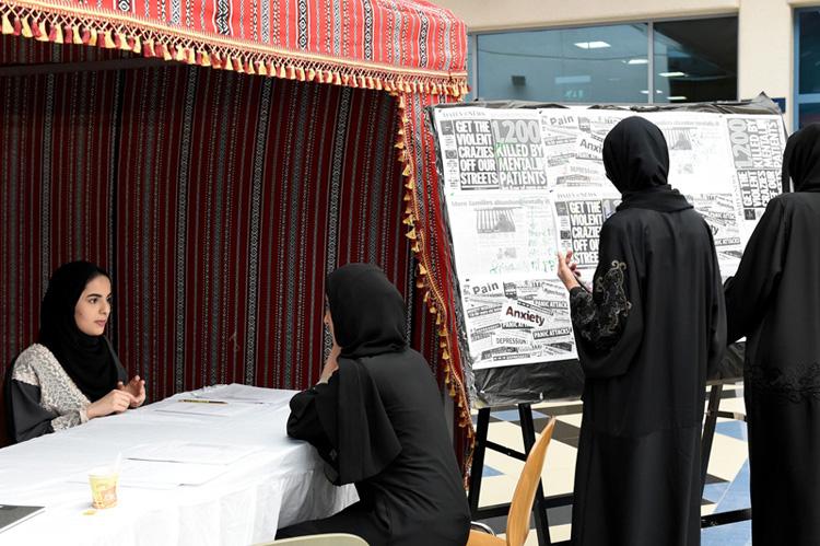 Zayed University Aims To Stop The Stigma Of Mental Illness