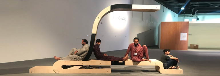 Zayed University CACE Student Showcases Design Project In The Global Grad  Show
