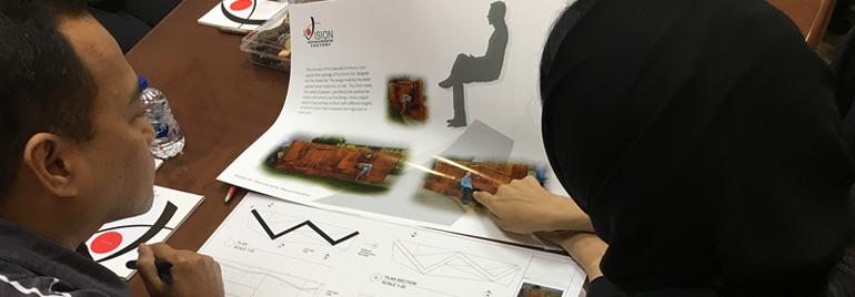 Zayed University Emerging Designers Participate In A Furniture Contest