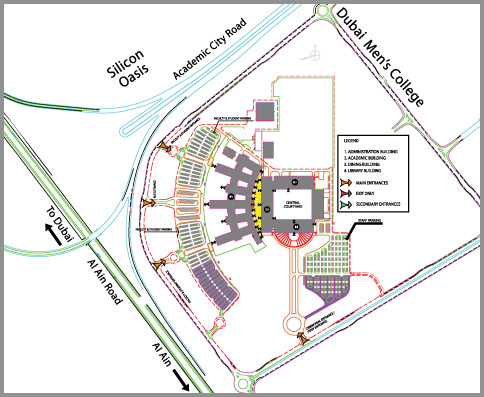 map of uea campus Location Map map of uea campus