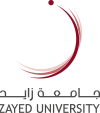 Zayed University - sticky logo