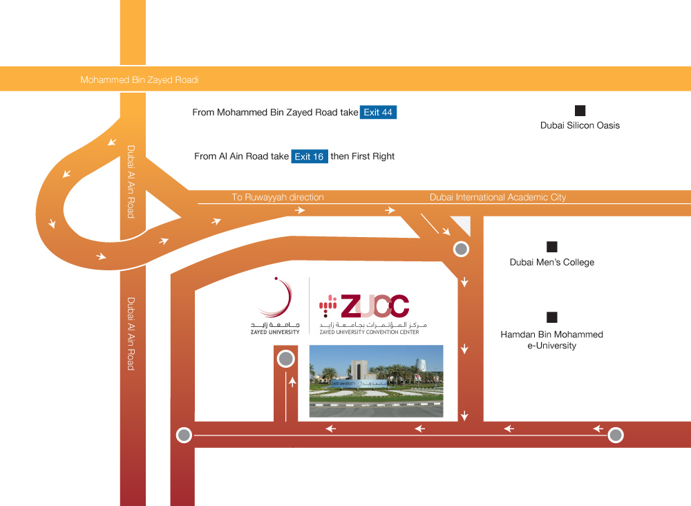 Directions to Zayed University – Uae Maps and Directions